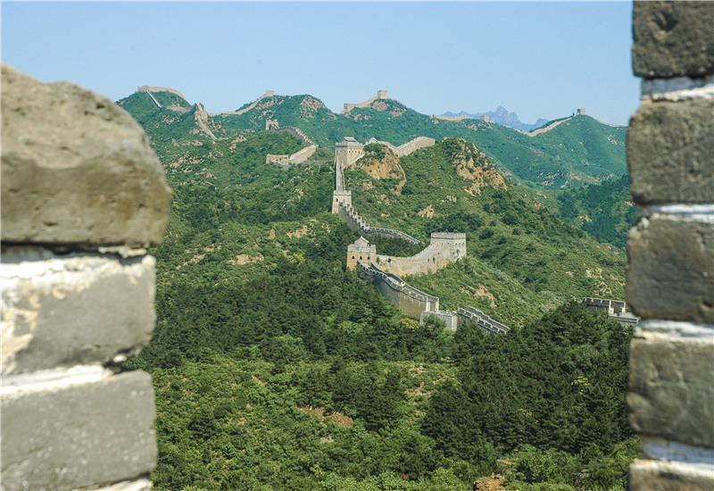 The Jinshanling Section of the Great Wall of China